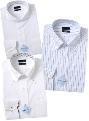 『COOLMAX ®』のシャツ