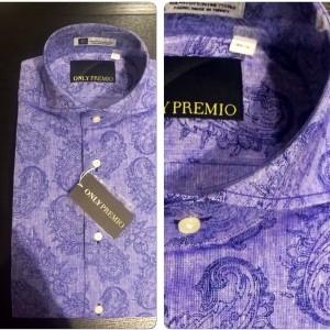 プレミオシャツ ペイズリー